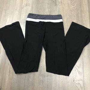 Lululemon Black & Grey Yoga Pants 4